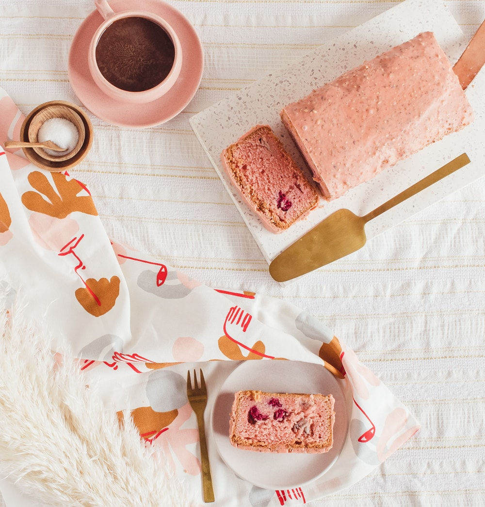 Raspberry Rose and Lychee Cake - A Parisian Journey